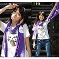 H3 圍巾 Huskyx3標誌 (紫色)