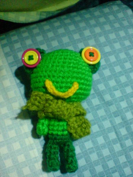 可愛的小綠