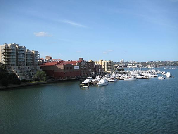 Sydney Iron Cove Bridge view