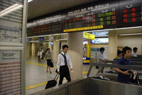 京都地下鐵站