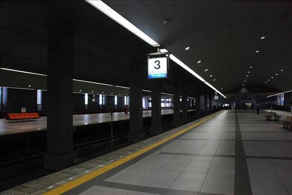 關西機場車站月台