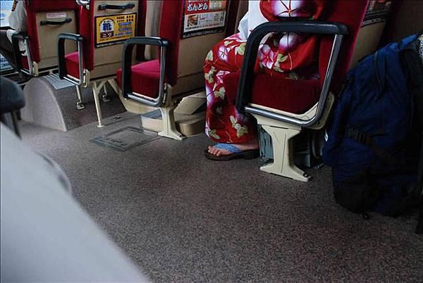 日本公車上