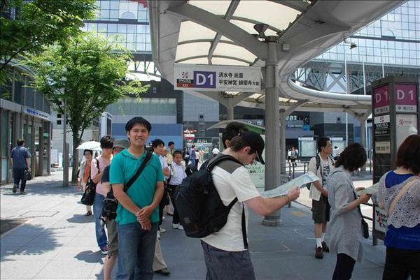 京都車站等要去清水寺