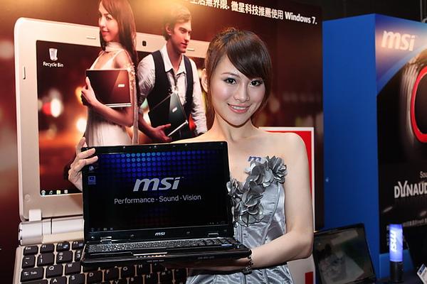 2010 COMPUTEX展前大排檔 MSI遇見未來3D、雲端運算、電子書、車用MOD科技新品發表