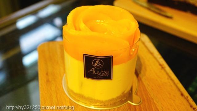 芒果玫瑰慕斯蛋糕