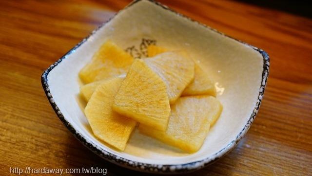 柚子皮醃蘿蔔