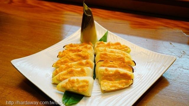 明太子烤竹筍