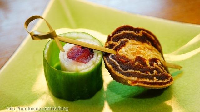 紫蘇小黃瓜捲