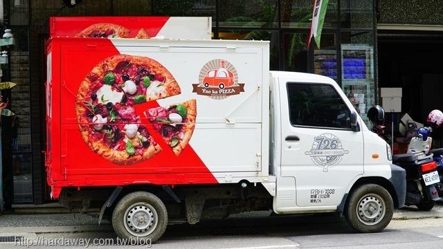 新竹行動披薩車