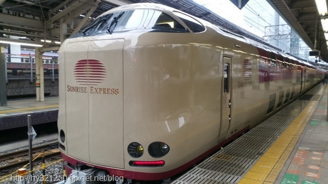 特急SUNRISE EXPRESS