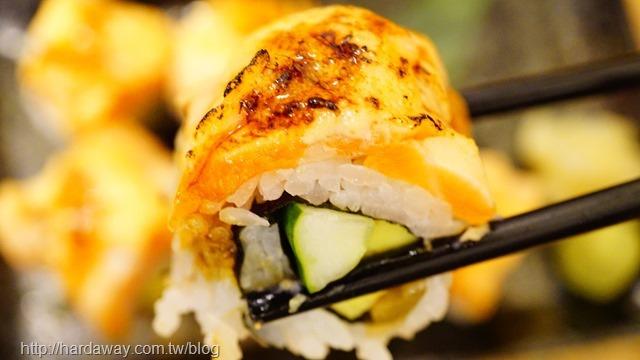 明太子鮭魚捲