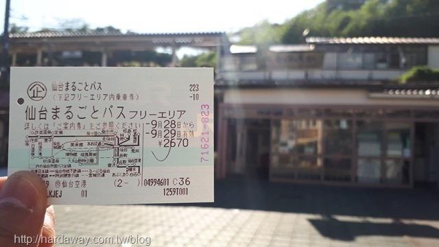 仙台兩日周遊券