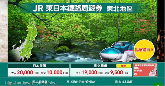 JR東日本鐵路周遊券