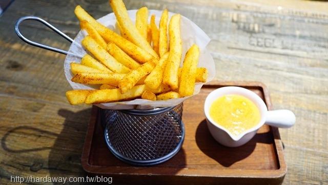 明太子醬酥脆薯條