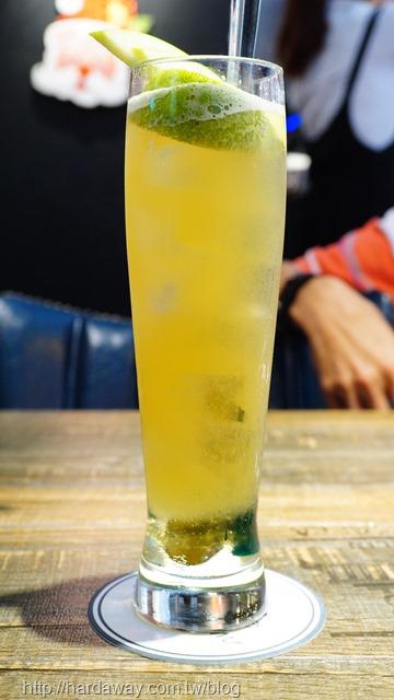 青蘋果蘆薈特調清茶