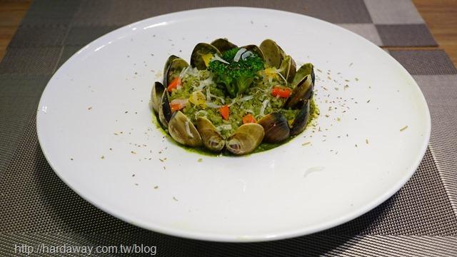 青醬蛤蠣燉飯