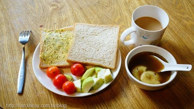 承億輕旅台南館早餐
