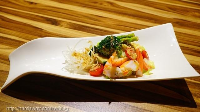 胡麻海鮮沙拉