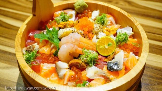 海景生魚丼