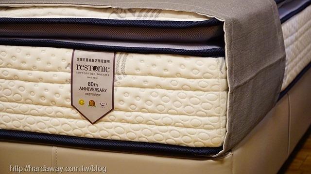 美國蕾絲床墊80週年紀念床墊