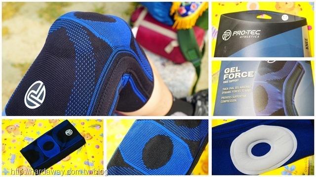 PRO-TEC冷矽膠功能型膝關節護具