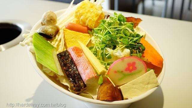 涮涮鍋菜盤