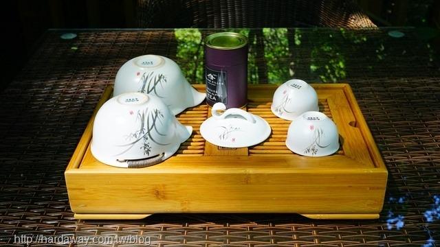 八仙山莊泡茶