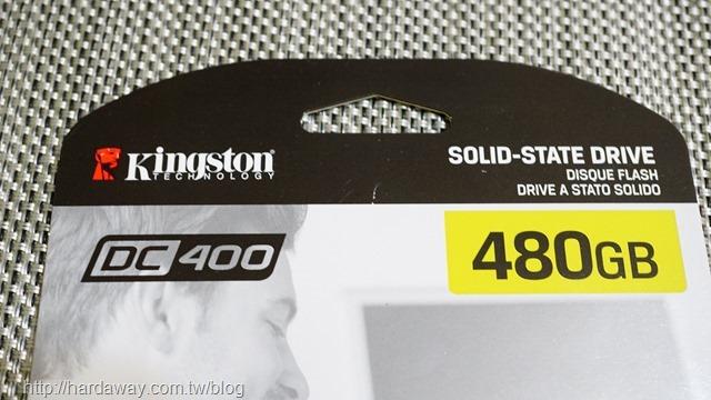 Kingston DC400企業級固態硬碟