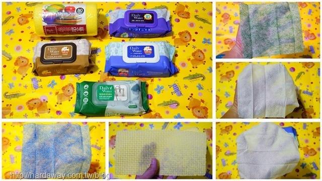DailyWater菜瓜布濕紙巾