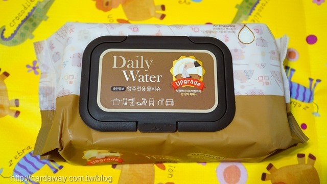 DailyWater居家型萬用紙抹巾