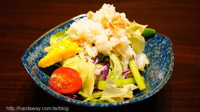 松葉蟹肉沙拉