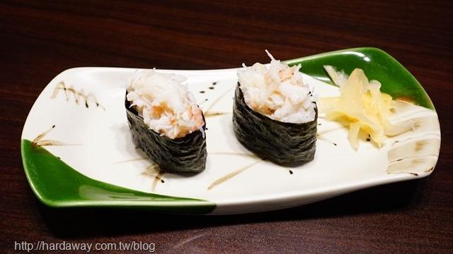 松葉蟹肉壽司
