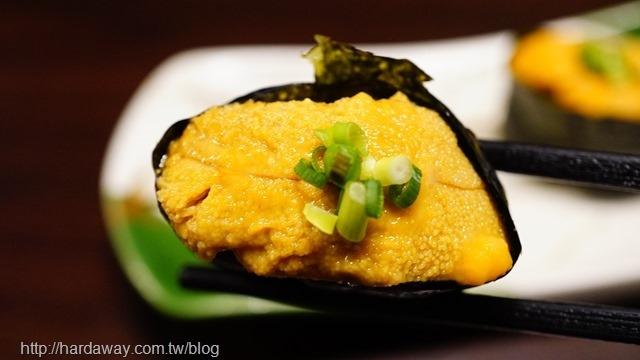 馬糞海膽壽司