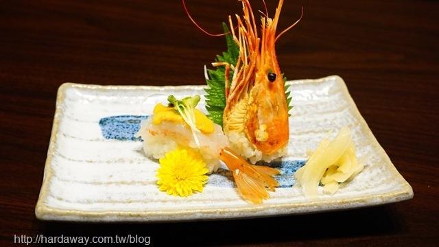 牡丹蝦壽司