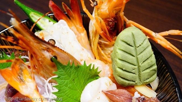 鹿角盛合海鮮丼