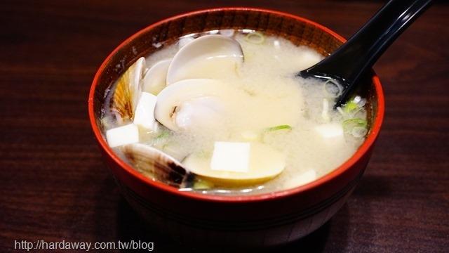 蛤蠣味噌湯