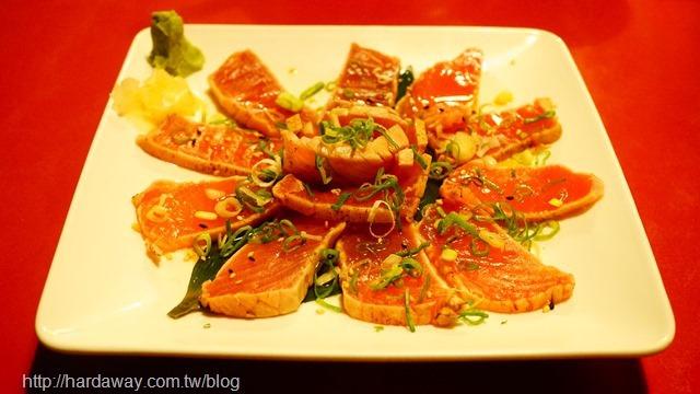 炙燒鮪魚生魚片