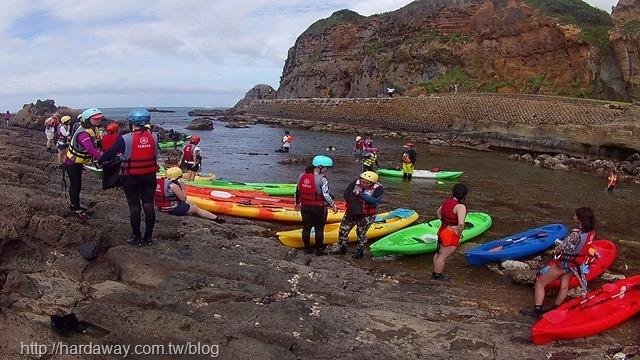 象鼻岩獨木舟探險