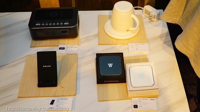 Wyless無線充電產品