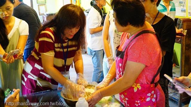 豆漿客家菜包DIY