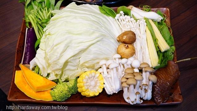 有機蔬菜盤