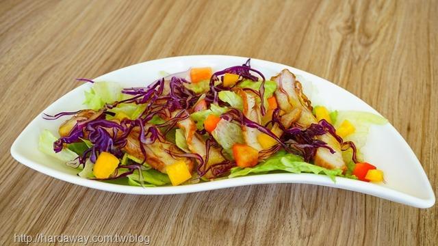 油醋雞肉美生沙拉