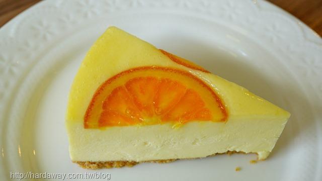 甜橙重乳酪蛋糕