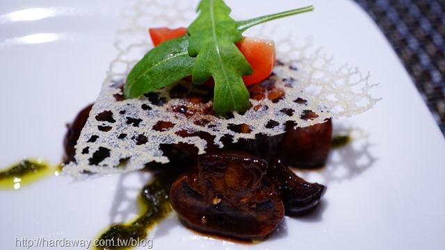 義大利櫻桃酒醋炒蘑菇
