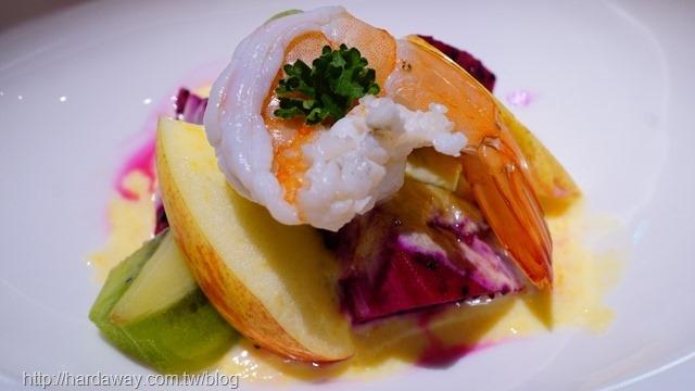 夏季芒果優格鮮蝦沙拉