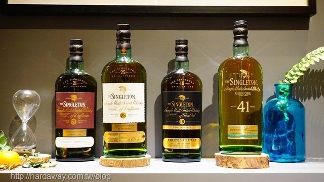 蘇格登單一麥芽威士忌