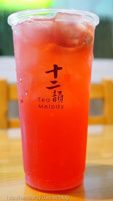 古典玫瑰冰茶