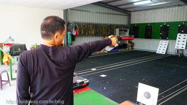 空氣手槍射擊
