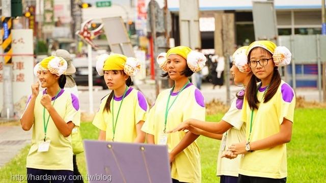 池上國中學生志工