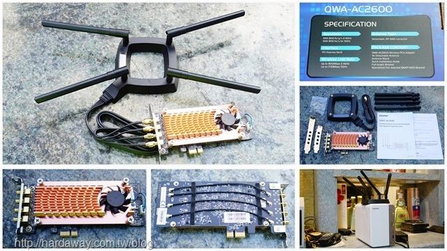 QWA-AC2600無線網卡